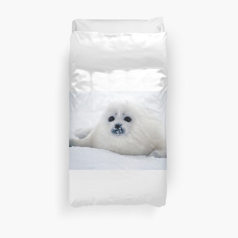 Ice puppy Duvet Cover