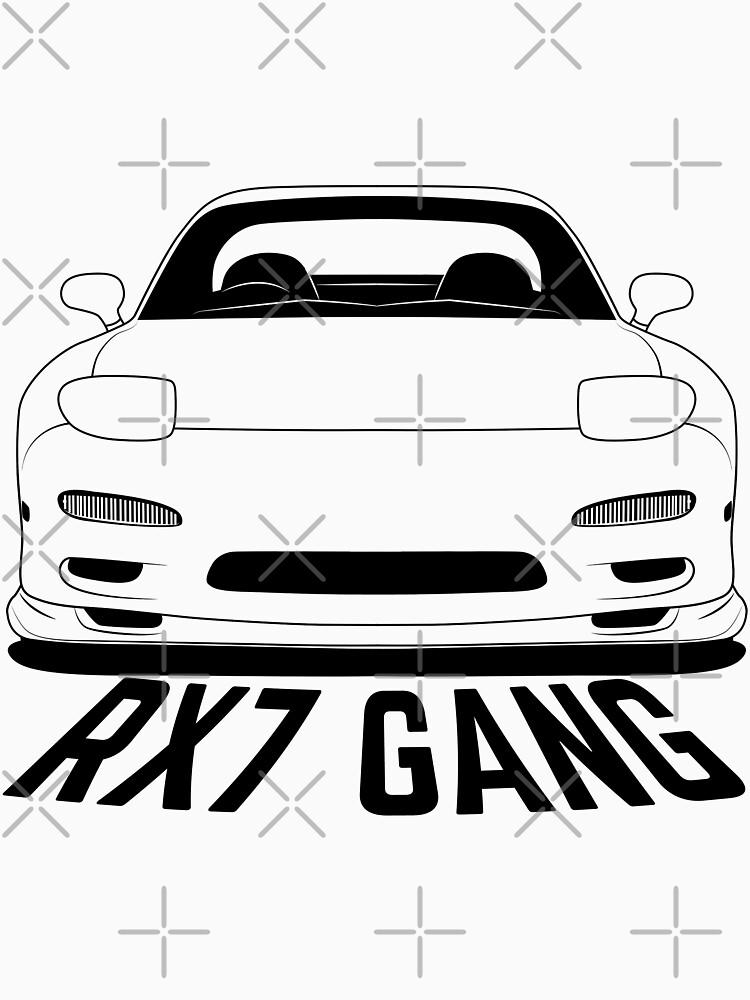 Mazda RX7 FD Gang Shirts by CarWorld