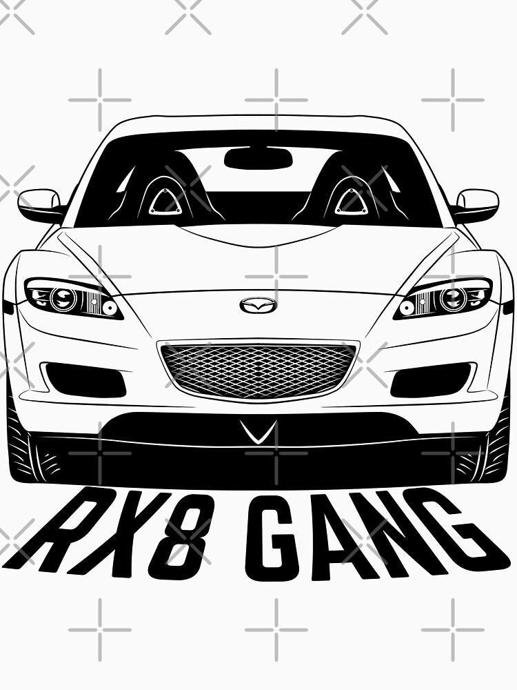 Mazda RX8 Gang Shirts by CarWorld