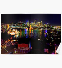 Light - Moods Of A CIty - The HDR Series, Sydney Australia Poster