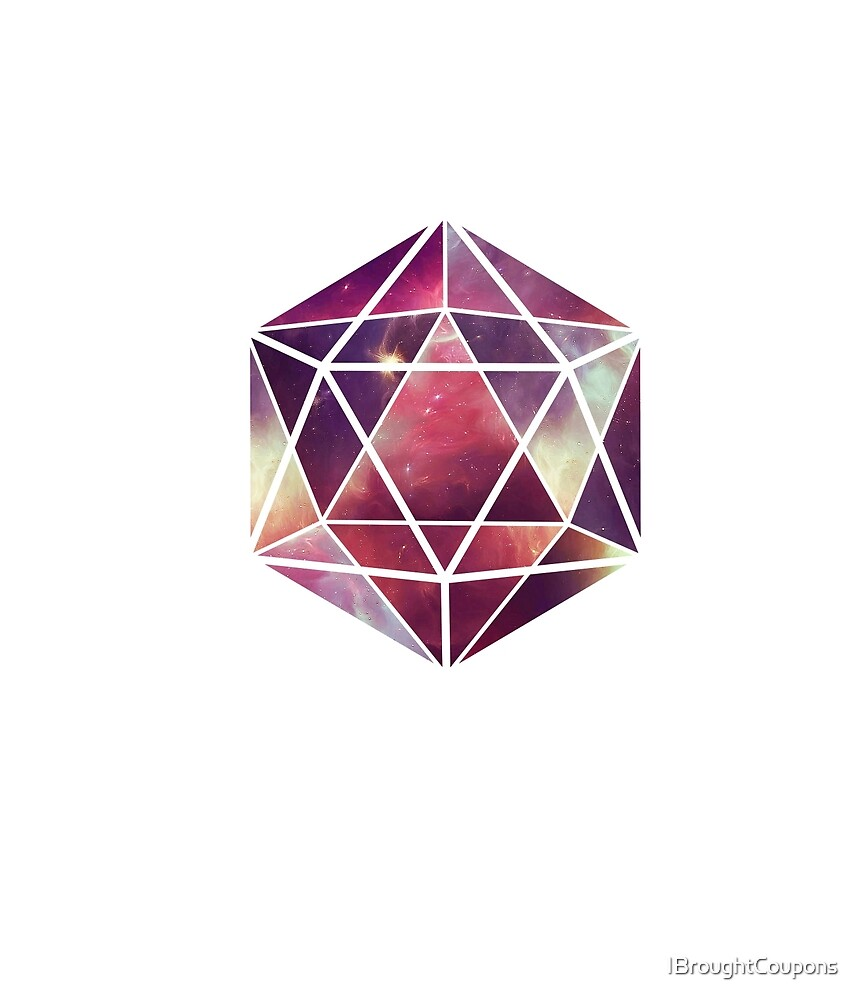 Geometric Icosahedron by IBroughtCoupons