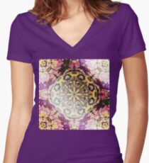 India In My Mind Women's Fitted V-Neck T-Shirt