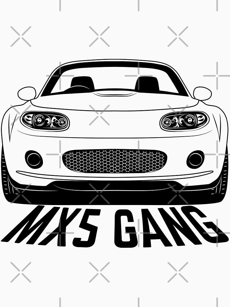 Mazda MX5 NC Gang Shirts by CarWorld