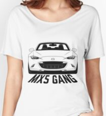 Mazda MX5 ND Gang Shirts Women's Relaxed Fit T-Shirt