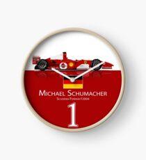 Michael Schumacher - Ferrari F2004 Clock