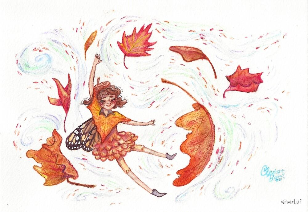 Fall Fairy by shaduf