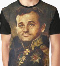 Satirical Portrait - Bill Murray  Graphic T-Shirt