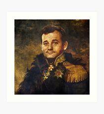 Satirical Portrait - Bill Murray  Art Print
