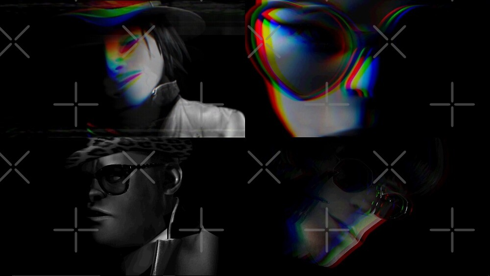 GORILLAZ, SCARY HUMANZ by Susie Timmons