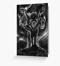 Forgotten Gods Greeting Card