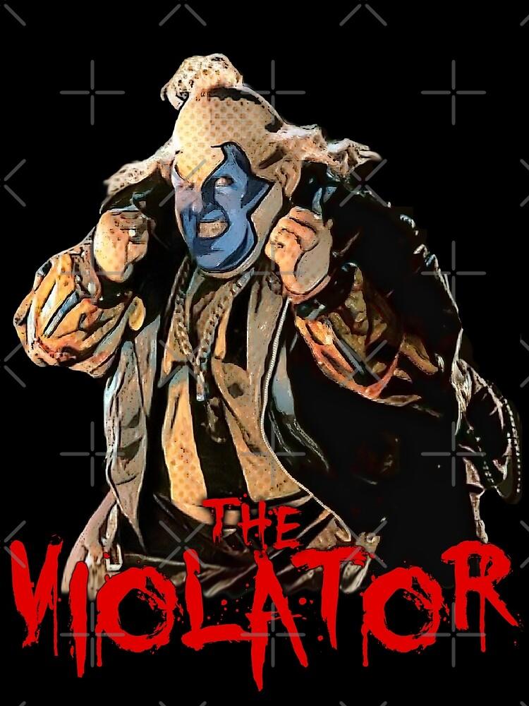 the Violator by American  Artist