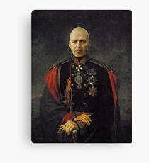 A satirical portrait - Michael Keaton Canvas Print