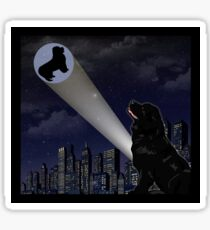 The City is Safe Tonight Sticker
