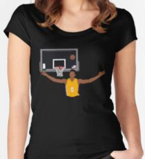 Nick Young Early Celebration Women's Fitted Scoop T-Shirt