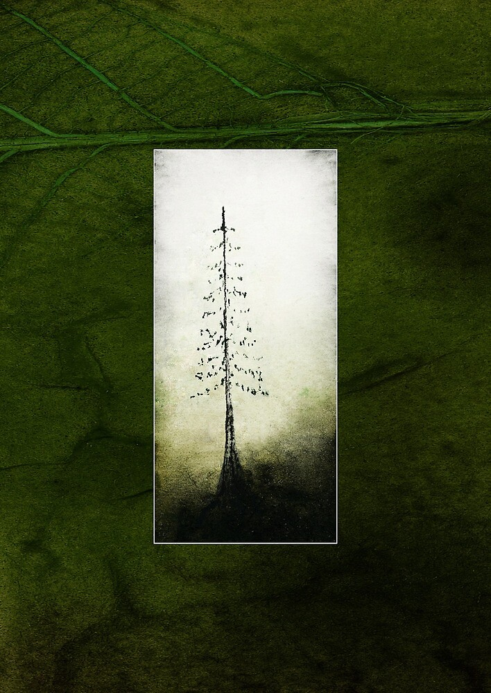 single tree smaller green by tamlit
