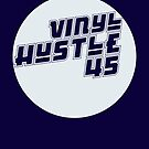 Vinyl Hustle Circle by modernistdesign