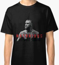 "Conor Mcgregor ""Notorious"" Classic T-Shirt"