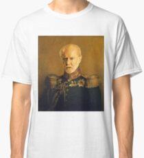 satirical portrait - George Carlin Classic T-Shirt
