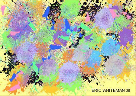 (DREAMING IN TWO DOT) ERIC WHITEMAN ART  by eric  whiteman