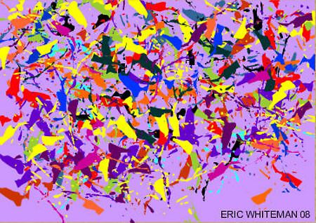 (LOST IN A MONTANA MIST)  ERIC WHITEMAN ART  by eric  whiteman