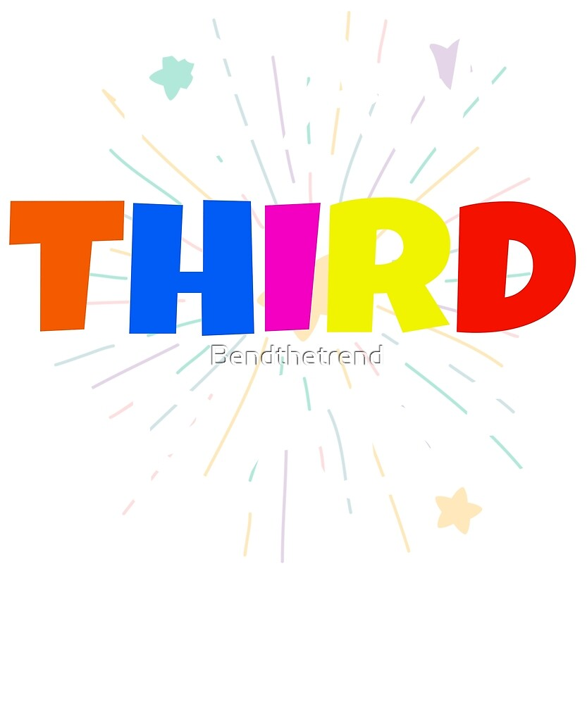Team Third Grade 3rd Graders Group by Bendthetrend