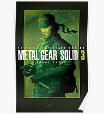 """Metal Gear Solid 3 """"Naked Snake"""" Poster Poster"""