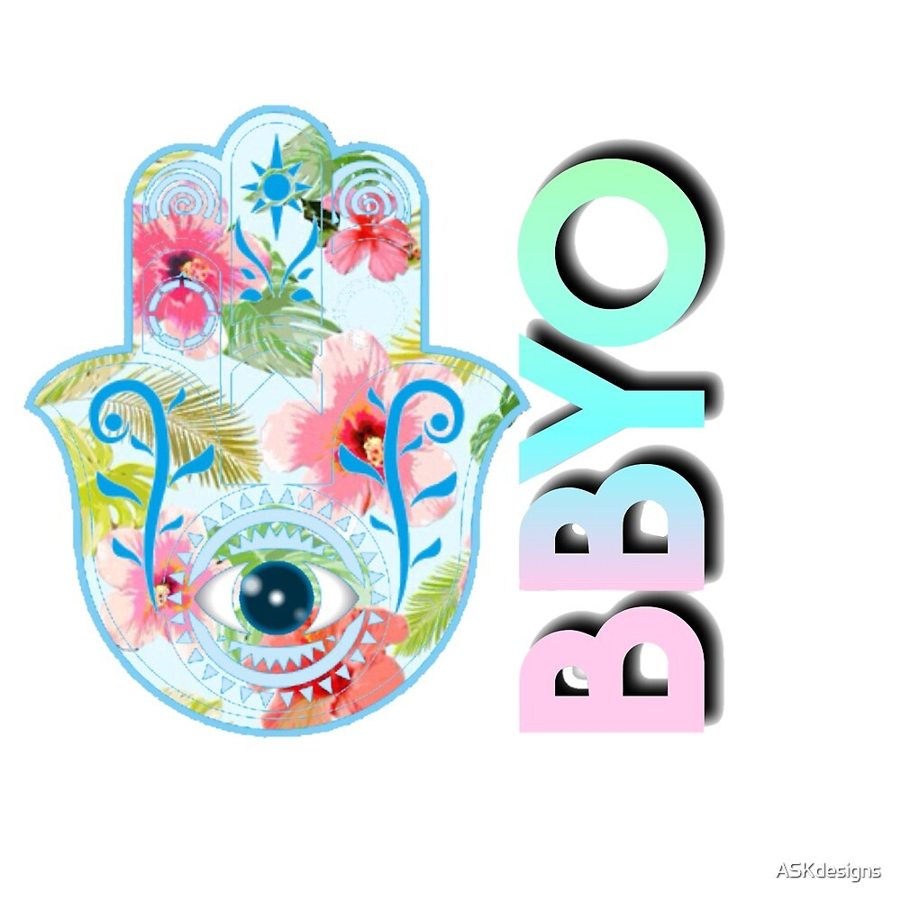 BBYO Flower Hamsa by ASKdesigns
