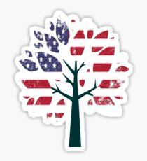 American tree  Sticker