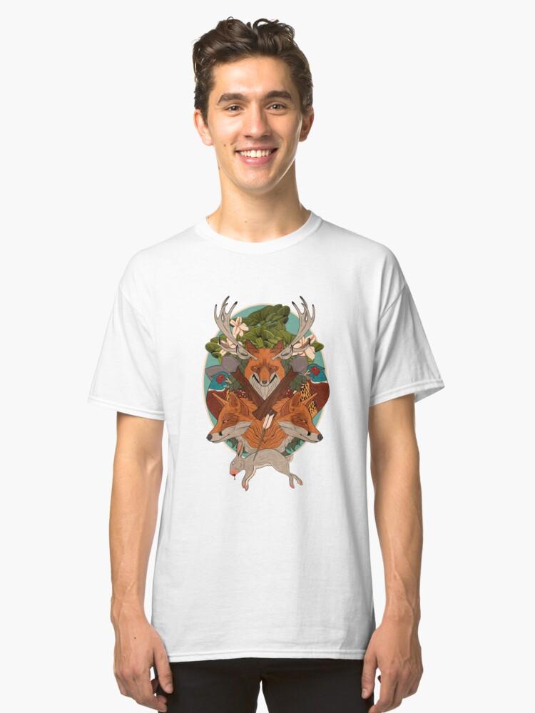 A Fox's Sleep Classic T-Shirt Front