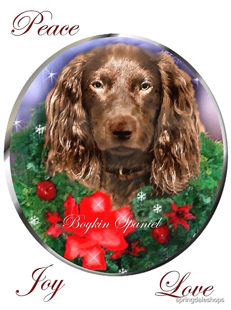 Boykin Spaniel Christmas Gifts by springdaleshops