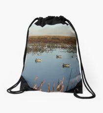 Magee Marsh Duck Hunt Drawstring Bag