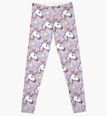 hologram unicorn emoji  Leggings