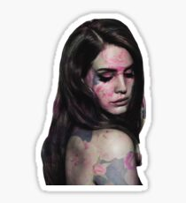 Flower Lana Sticker