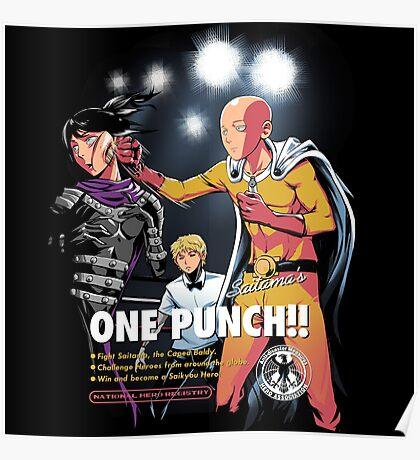 Saitama's ONE PUNCH Poster
