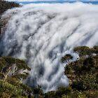 Phantom Falls #1 - Blue Mountains World Heritage Area - Katoomba Australia by Philip Johnson