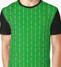 McGregor Pin Stripe green F.U. Graphic T-Shirt