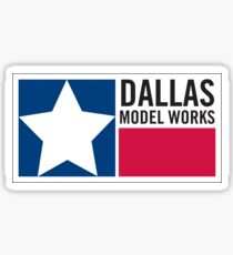Dallas Model Works logo Sticker