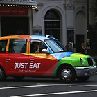 London Cab by Kent Nickell