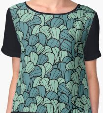 Curves Pattern Women's Chiffon Top