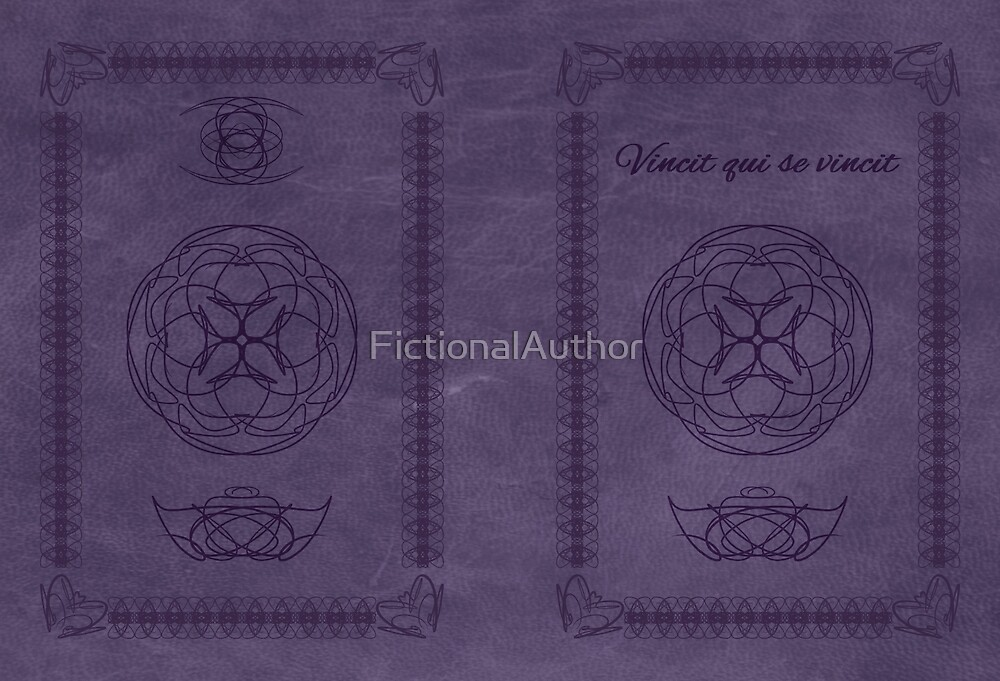 Vincit Qui Se Vincit *He Conquers Who Conquers Himself* (Purple) by FictionalAuthor