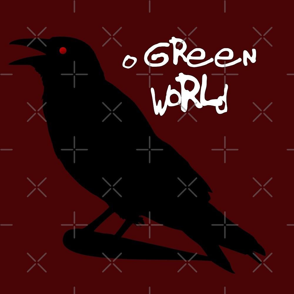 O GREEN WORLD: GORILLAZ DEMON DAYS by Susie Timmons