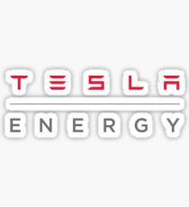 Tesla Energy Sticker Sticker