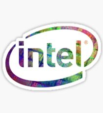 Intel Logo | Silicon CPU Sticker
