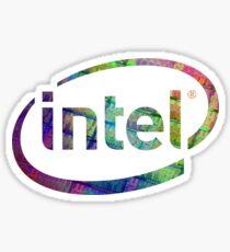Intel Logo   Silicon CPU Sticker