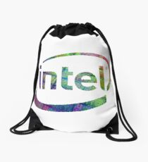 Intel Logo | Silicon CPU Drawstring Bag