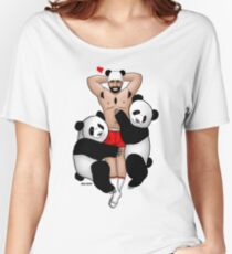 Bare Beef Tees, Panda Lover Women's Relaxed Fit T-Shirt