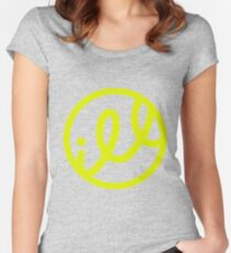 ill yellow Women's Fitted Scoop T-Shirt
