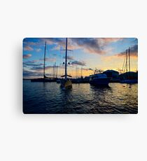 Sailboats Hamilton - Bermuda Canvas Print