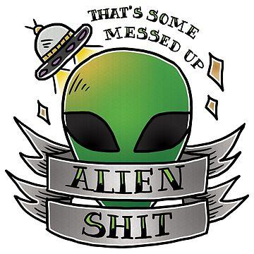 Alien  by ReeDraws