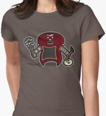 Dr. Frankenstein's Guitar Women's Fitted T-Shirt